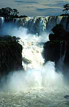 Wild water in Iguazu