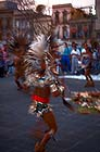 Dancing Indios in Mexico city
