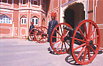 City Palace guards (Jaipur)