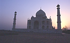 Sunrise at theTaj Mahal